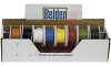 WIRE, HOOK UP, KIT, 18AWG, STRANDED, PVC, 8 COLORS CLEAR (TRANSPARENT) -- 70004256