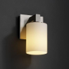 FSN-8921-10-OPAL-NCKL Sconces-Single Glass -- 671804