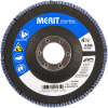 Merit ZA Coarse Center Mount Fiberglass HD Conical Flap Disc -- 08834190175 - Image