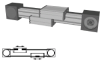 External Belt Driven Linear Actuator -- ELZG 30 - Image