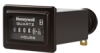 Honeywell Quartz Plus dc Hour Meter, rectangle opening, rectangular stirrup with black bezel, 0.25 bent blade termination, 10K hours, 10 Vdc to 32 Vdc operating voltage, faceplate: satin black with wh -- 85010 -Image