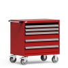 R Mobile Cabinet, 4 Drawers (36