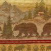 Bear Scenic Frieze Chenille Fabric -- R-Bear Run - Image