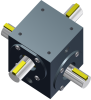 Right Angle Gearbox -- Include-A-Shaft® 4304