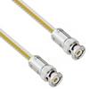 Teflon Jacket Cable Assembly with TRB 3-Slot Plug to Plug .236