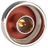 Coaxial Barrel Adapter, Type N-Male / Male -- AXA-NMNM