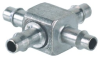 """3/32"""" ID Hose Cross Fitting -- X33-202 -- View Larger Image"""