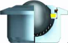 Heavy Duty Ball Transfer Units, Series 800 -- BT 800 Series -Image