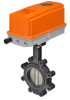Butterfly Valve With Non-Spring Return Actuators -- F6 Series