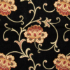 Elegant Scroll Floral Chenille Fabric -- K-Alexandria -- View Larger Image