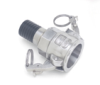 Page Series Industrial Hydraulic Crimp Fitting – SS Sanitary Camlock Female -- 16-16CL-S - Image
