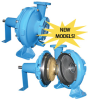 End Suction Pumps (Frame Mounted / Closed Coupled) -- HCU Series (Barnes)