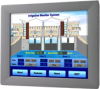 12'' SVGA Industrial Monitor with Resistive Touchscreen and Direct-VGA Port -- FPM-2120G -Image