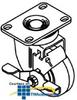 Chatsworth Products Enhanced Datacom Cabinet Caster Set -- 12495-001 -- View Larger Image