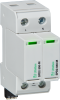 Surge Protection Devices -- SPD2 1P+1 Series - Class II/Type 2/Type 1 CA Pluggable Multi-Pole -Image