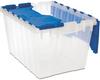 Container, KeepBox 12 Gal, 21-1/2 x 15 x 12-1/2 -- 66486CLDBL