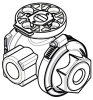 "3/4"" Nylon Valve -- NF3E23 -- View Larger Image"