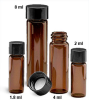 Amber Glass E-C Sample Vials -- 224752