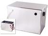 Noco Group 27 Sealed Aluminum Battery Box - Polished Finish -- NOCO-HM252