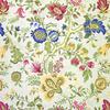 Elegant Old World Botanical Fabric -- R-Giorgio -- View Larger Image