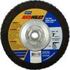 Norton Red Heat R961 CA Coarse Arbor Thread Fiberglass Conical Flap Disc -- 66623399058 - Image