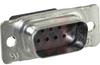 AMPLIMITE HDP-20 Connector, Plug, 9 Pos., Front Metal Shell, Crimp-Snap -- 70043025 - Image