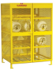 Steel Cylinder Storage Cabinet -- CAB358 -- View Larger Image