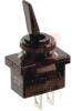 Switch, Toggle, Nylon Insulated, SPST, On-None-Off, Solder/Spade Terminals -- 70131564 - Image