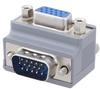Premium HD15 male to female right angle orientation Adapter -- DSC00288 -Image