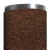 2' x 3' Brown - Economy Vinyl Carpet Mat -- MAT340BR
