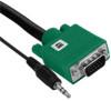 Elementhz 4 Meter VGA Cable with 3.5MM -- ELE2004M