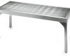 Cleanroom Perforated Stainless Steel Table -- CAP64PF