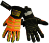 Global Glove Vise Gripster Black/Orange Medium Armortex/Neoprene/Thermoplastic Cold Condition Gloves - Thinsulate Insulation - SG9999INT MD -- SG9999INT MD