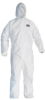 KLEENGUARD(R) A20 Breathable Particle Protection Apparel, Elastic Back/Wrists/Ankles/Hood, Large -- 036000-49113