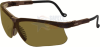 Uvex Genesis Safety Glasses with Earth Frame and Espresso -- S3221