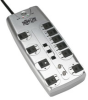 10 Outlet, 8-ft Cord, 3345 Joules, Tel/Modem and Coaxial Protection - Protect It! Surge Suppressor -- TLP1008TELTV