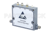 Voltage Variable PIN Diode Attenuator, 0 to 60 dB, 500 MHz to 18 GHz, Rated to 20 dBm, SMA, Solder Pin Control -- PE70A2900