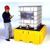 UltraTech IBC Spill Pallet PLUS (w/ drain) -- UTI-1158