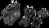 Wall Plug-In Multi Blade AC-DC Power Supply -- SMI18-12 - Image