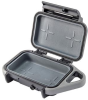 Pelican G10 Go Case - Anthracite with Gray Trim   SPECIAL PRICE IN CART -- PEL-GOG100-0000-DGRY -Image