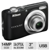 Nikon Coolpix L24 26239 Digital Camera - 14 MegaPixels, 3.6x -- 26239