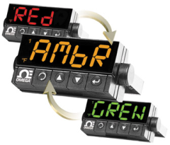 Red, amber, green display colors via OMEGA, Inc.