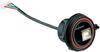 BULGIN - PX0843/A - COMPUTER CABLE, USB 2.0, 132MM, BLACK -- 449136