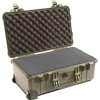 Pelican 1510 Carry On Case with Foam - Olive Drab | SPECIAL PRICE IN CART -- PEL-1510-000-130 - Image