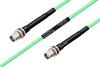 Temperature Conditioned TNC Female Bulkhead to TNC Female Bulkhead Low Loss Cable 36 Inch Length Using PE-P142LL Coax -- PE3M0165-36 -Image