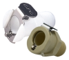 Polypropylene Shut-Off In Line Male Pipe Thread Fitting 1/4