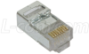 Modular Plug, RJ45(8x8) Category 5/5E Shielded, Pkg/50 -- TSP4088C5S