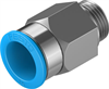 QS-G3/8-16 Push-in fitting -- 186347 -Image
