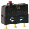 MICRO SWITCH SX Series Subminiature Basic Switch, Single Pole Double Throw (SPDT), 250 Vac, 7 A, Pin Plunger Actuator, Solder Termination -- 2SX1-T -Image