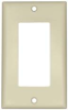 DECORA SWITCH 1 GANG PLATE WHITE -- IBI469884
